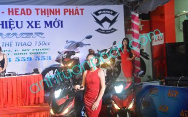 TCSK ra mắt xe máy Honda Winner