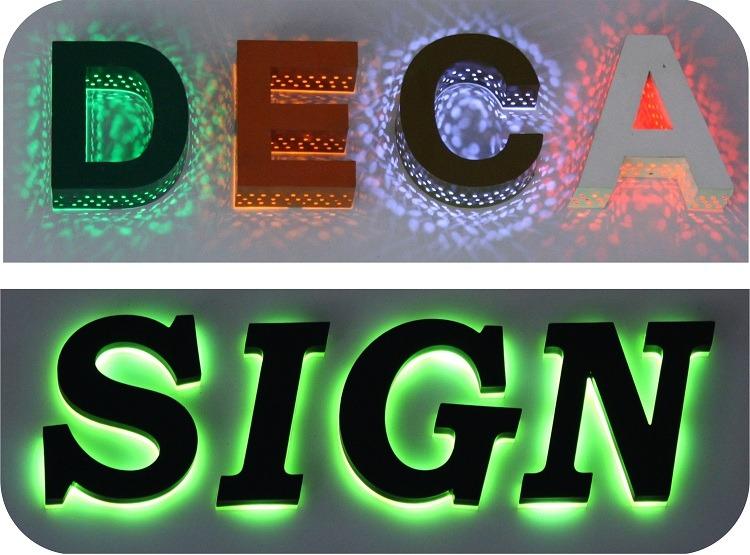 Nhận Thi công - Thiết kế chữ nổi đèn LED NHANH CHÓNG