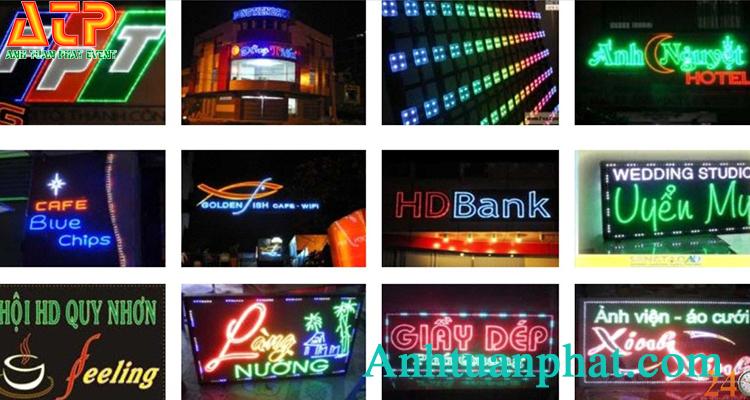 Thiết kế biển hiệu LED Long An