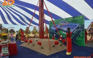 Tổ chức lễ động thổ tại bình dương công ty SR Sund tour